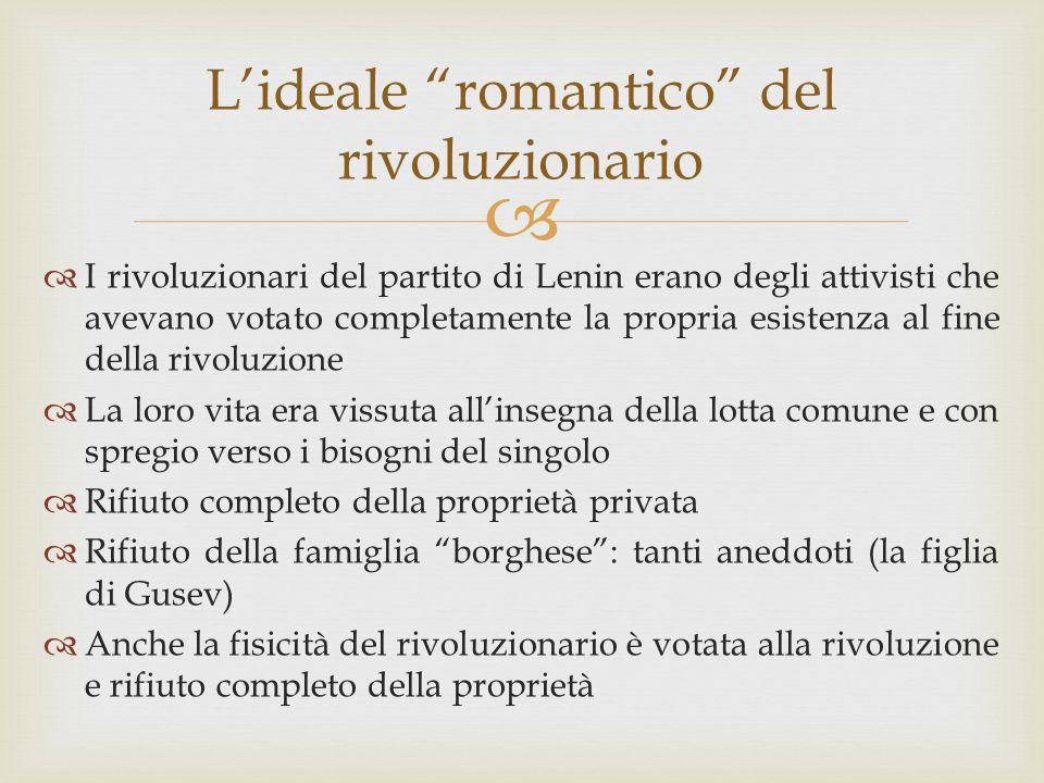 L'ideale romantico del rivoluzionario