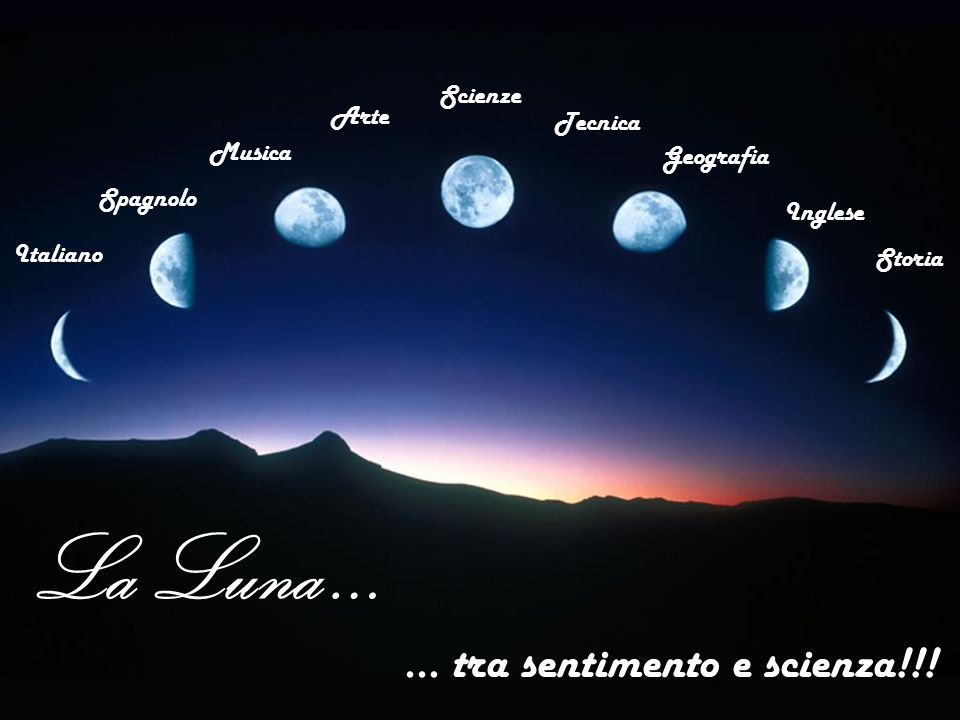 … tra sentimento e scienza!!!