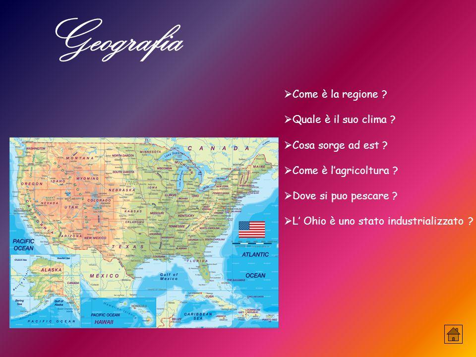 Geografia Come è la regione Quale è il suo clima