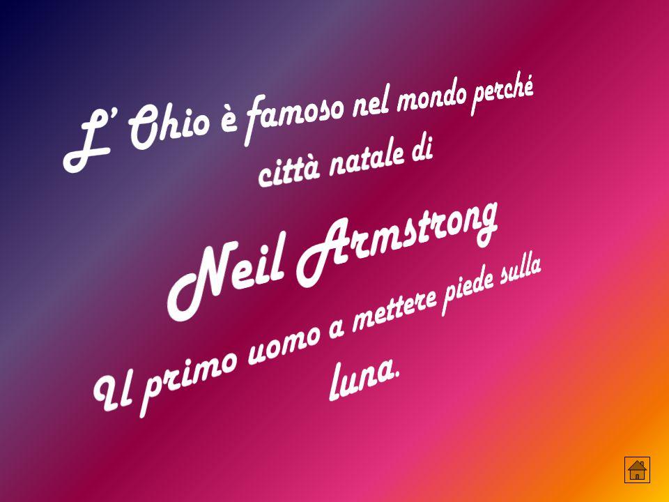 Neil Armstrong L' Ohio è famoso nel mondo perché città natale di