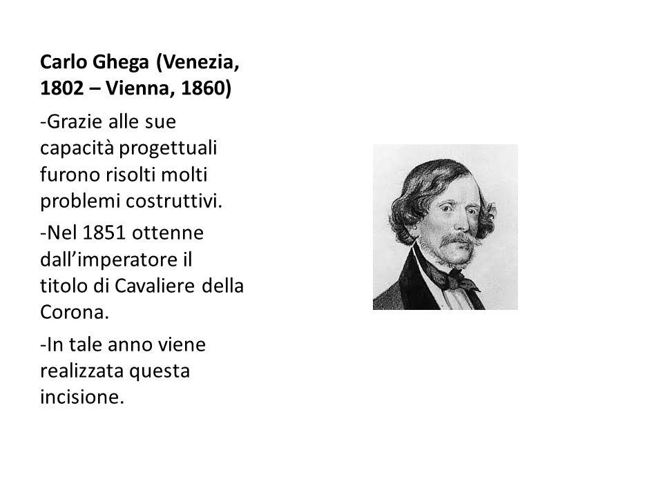Carlo Ghega (Venezia, 1802 – Vienna, 1860)