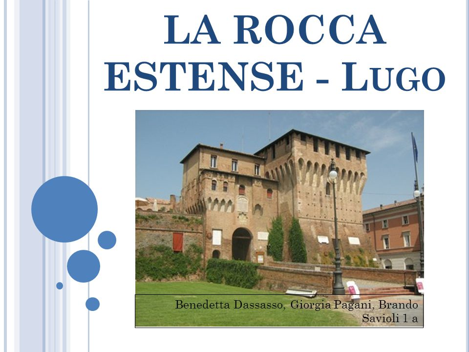 LA ROCCA ESTENSE - Lugo Benedetta Dassasso, Giorgia Pagani, Brando Savioli 1 a