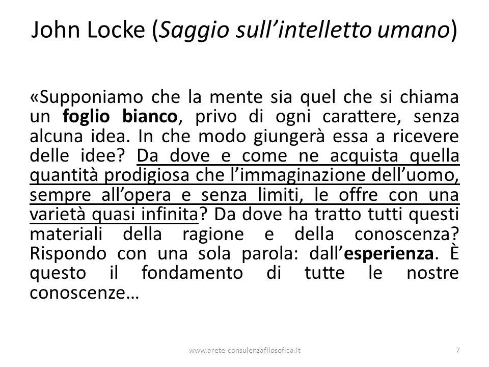 John Locke (Saggio sull'intelletto umano)