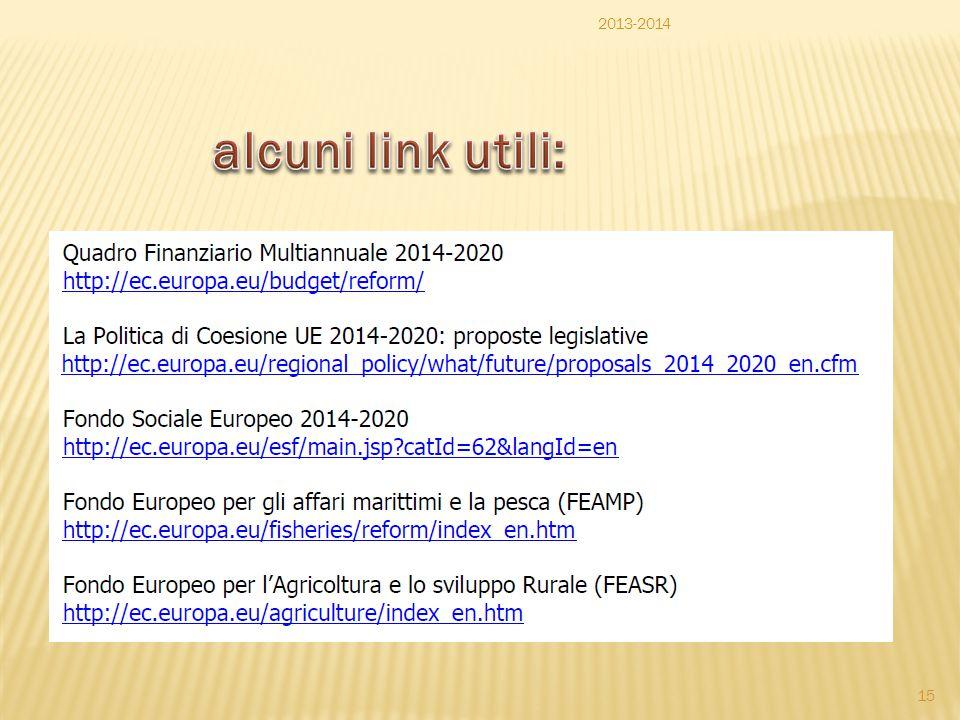 2013-2014 alcuni link utili: