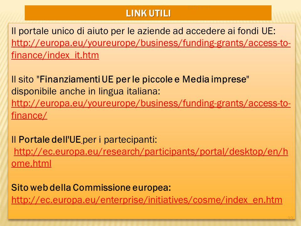 Sito web della Commissione europea: