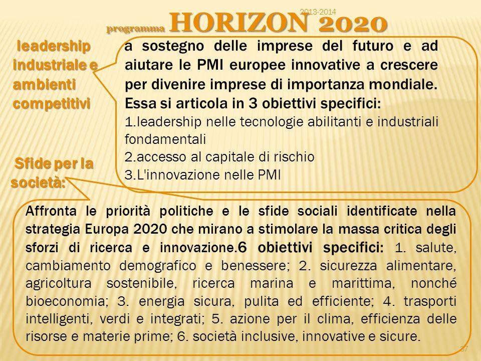 leadership industriale e ambienti competitivi