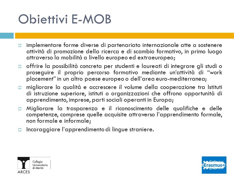 Obiettivi E-MOB