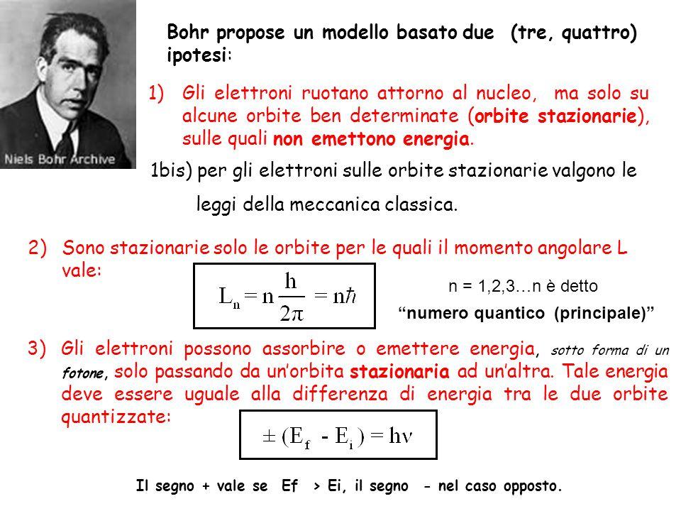 numero quantico (principale)