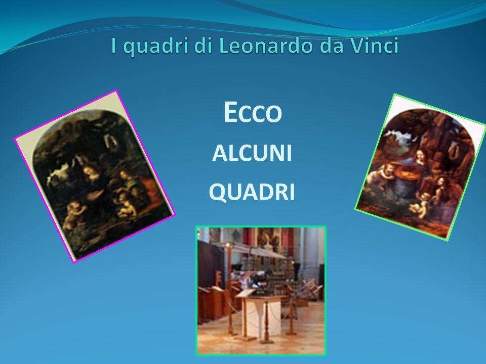 I quadri di Leonardo da Vinci