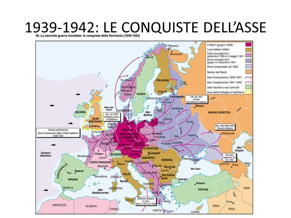 1939-1942: LE CONQUISTE DELL'ASSE