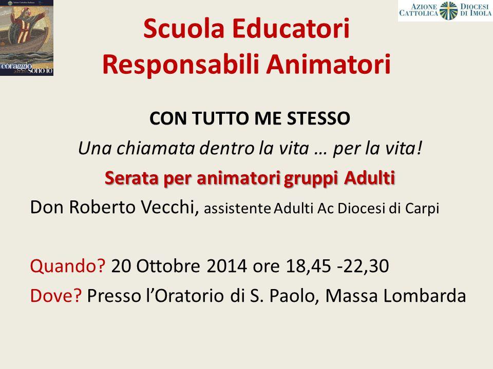 Scuola Educatori Responsabili Animatori