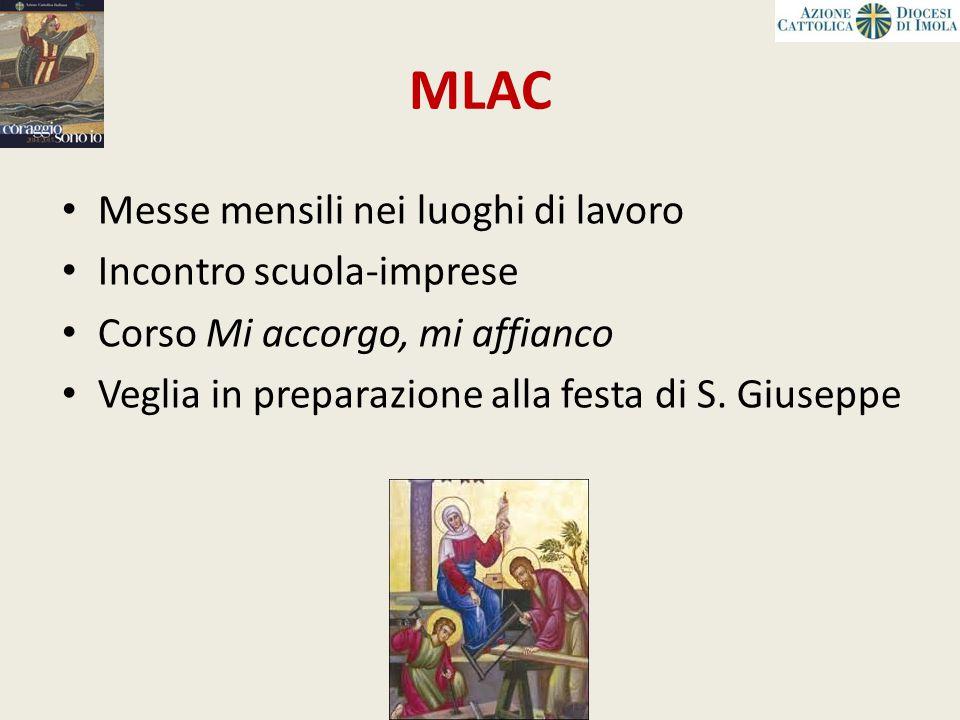 MLAC Messe mensili nei luoghi di lavoro Incontro scuola-imprese