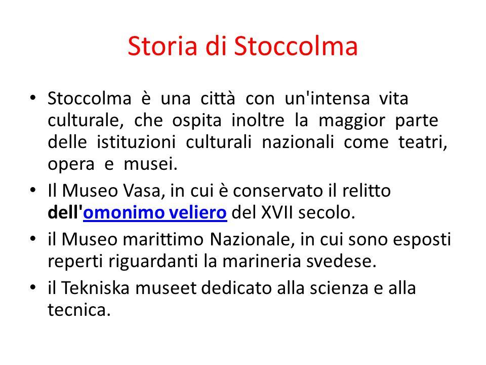 Storia di Stoccolma