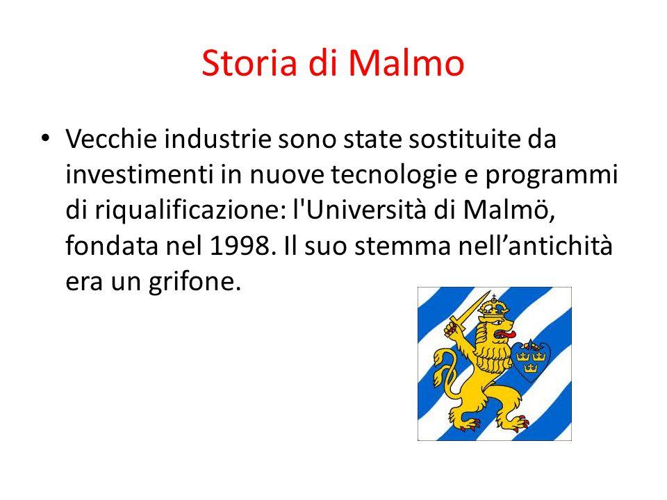 Storia di Malmo
