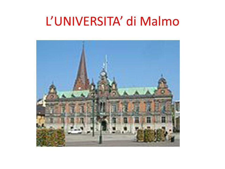 L'UNIVERSITA' di Malmo