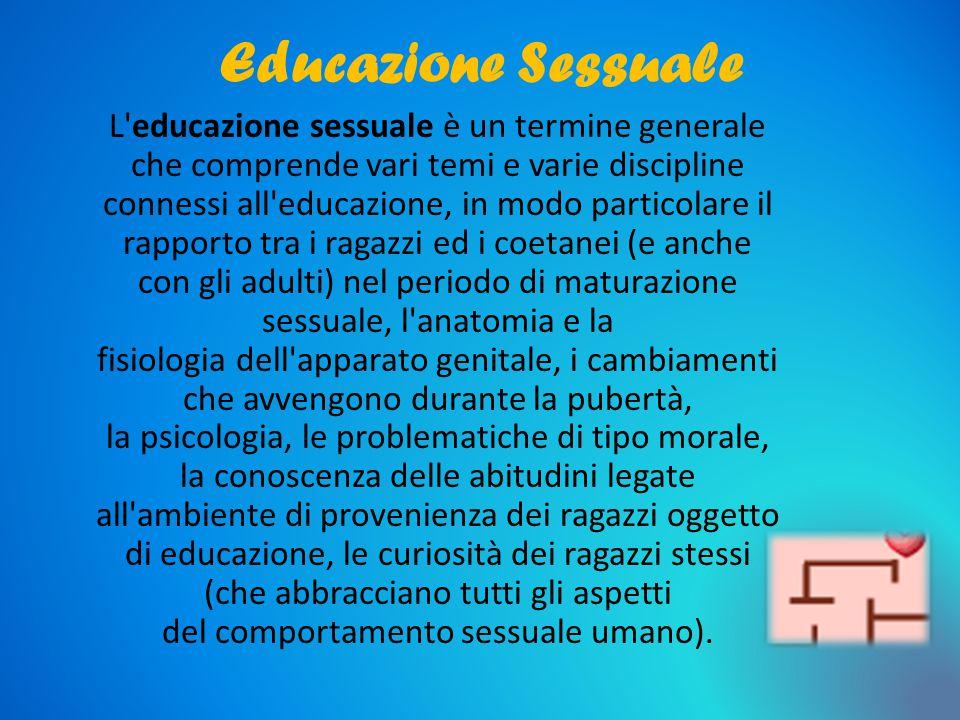 Educazione Sessuale