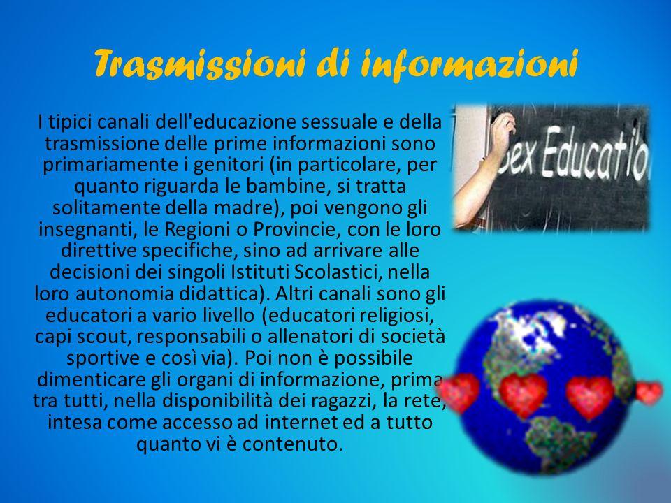 Trasmissioni di informazioni