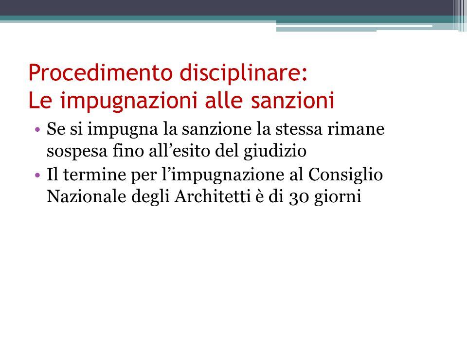 Procedimento disciplinare: Le impugnazioni alle sanzioni