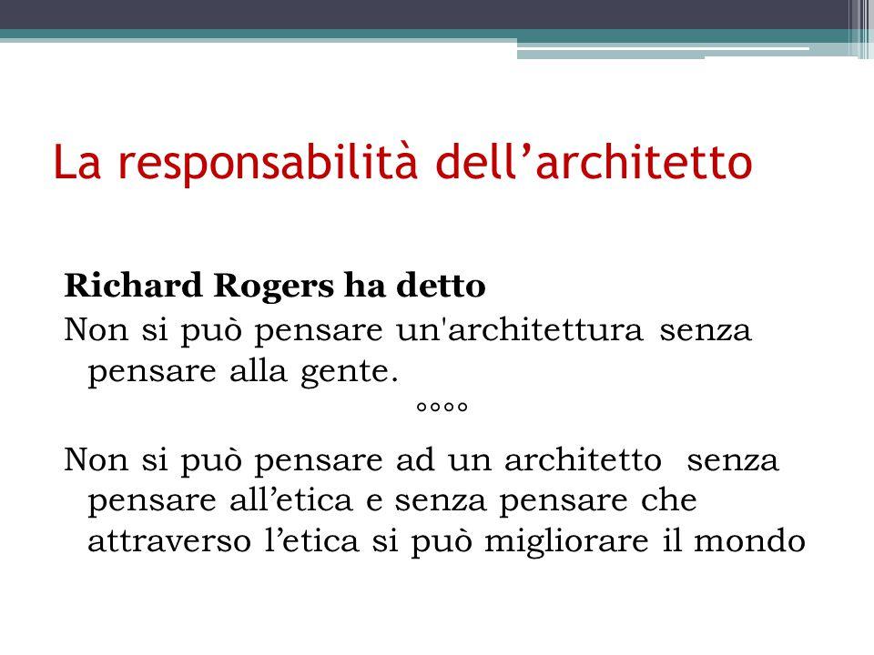 La responsabilità dell'architetto