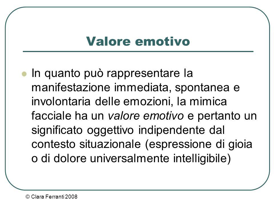 Valore emotivo