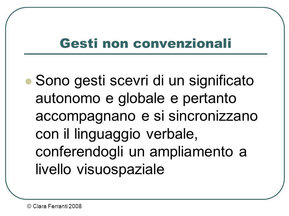 Gesti non convenzionali