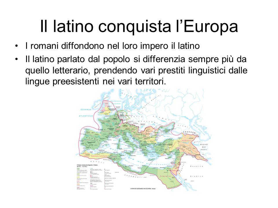 Il latino conquista l'Europa