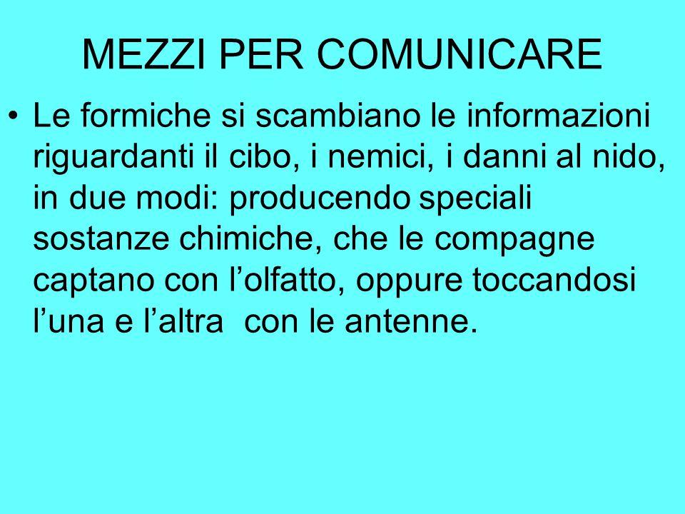 MEZZI PER COMUNICARE