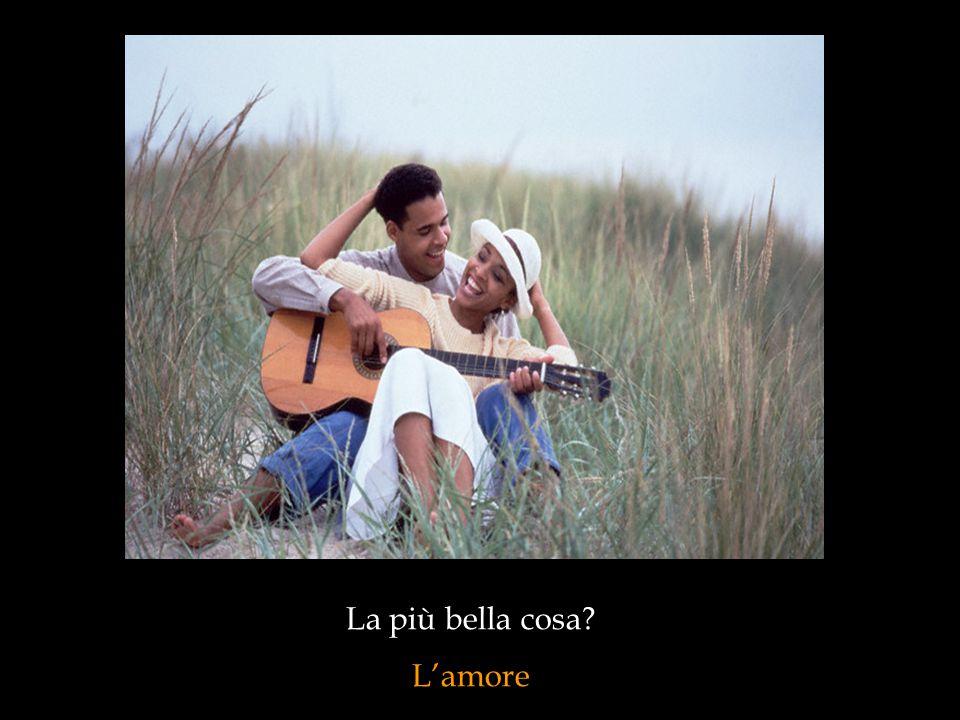La più bella cosa L'amore