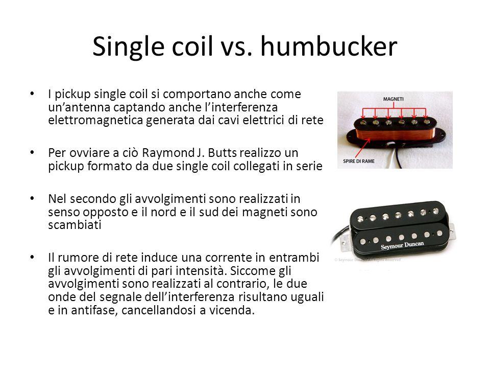 Single coil vs. humbucker