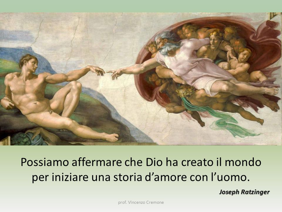 Possiamo affermare che Dio ha creato il mondo