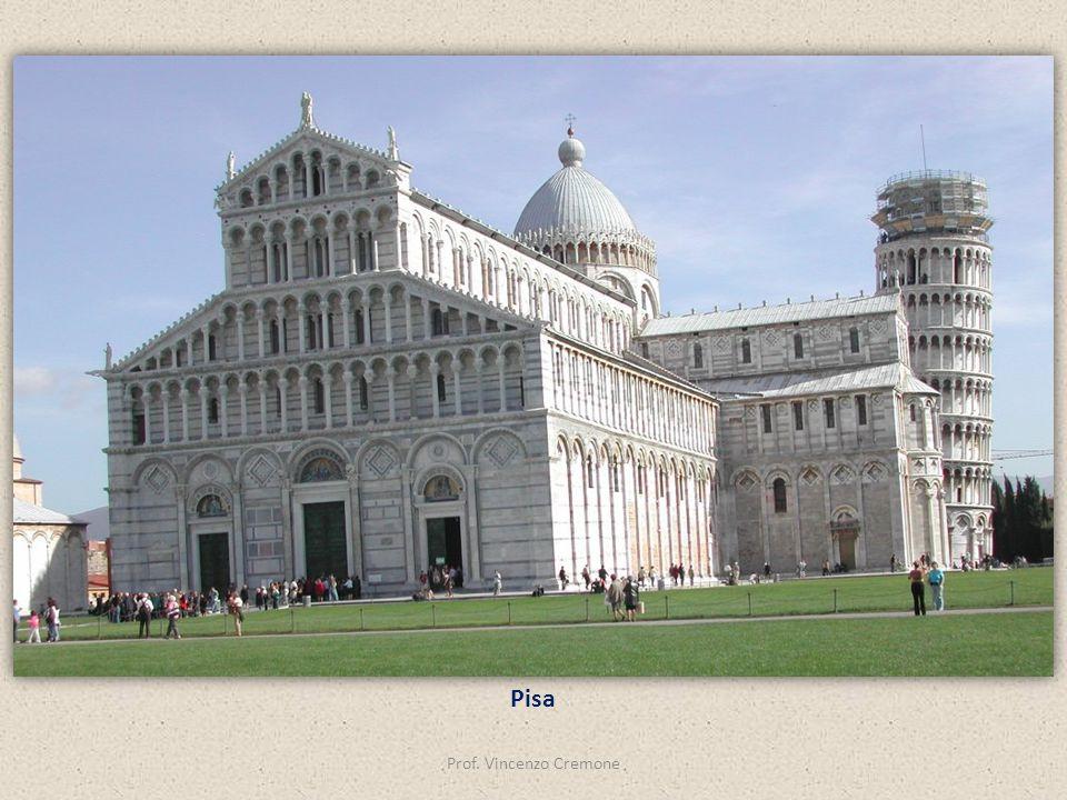 Pisa Prof. Vincenzo Cremone