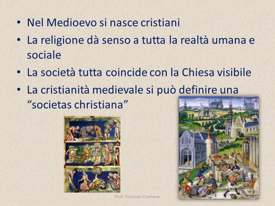 Nel Medioevo si nasce cristiani