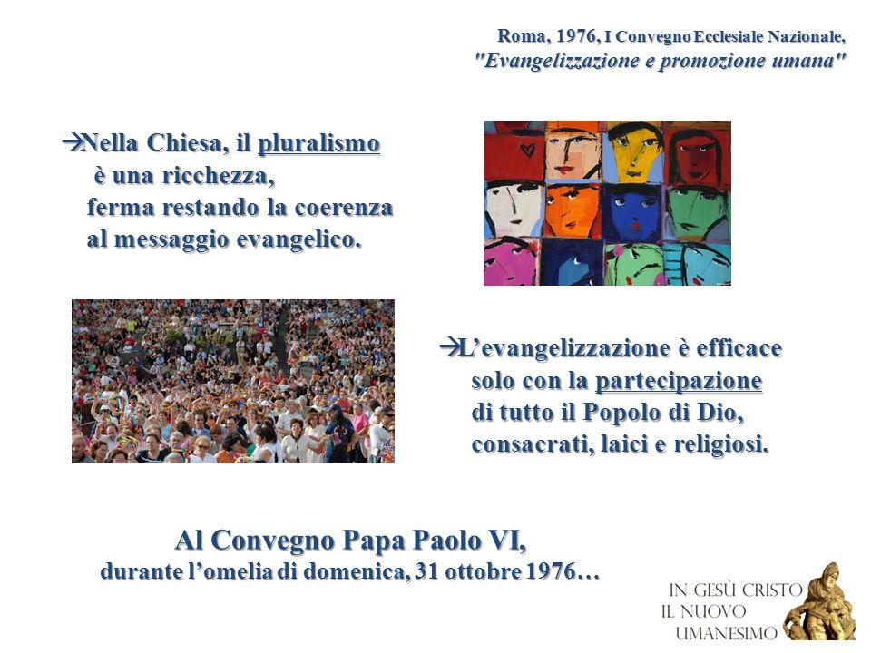 Al Convegno Papa Paolo VI,