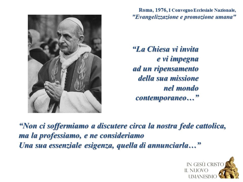 Non ci soffermiamo a discutere circa la nostra fede cattolica,