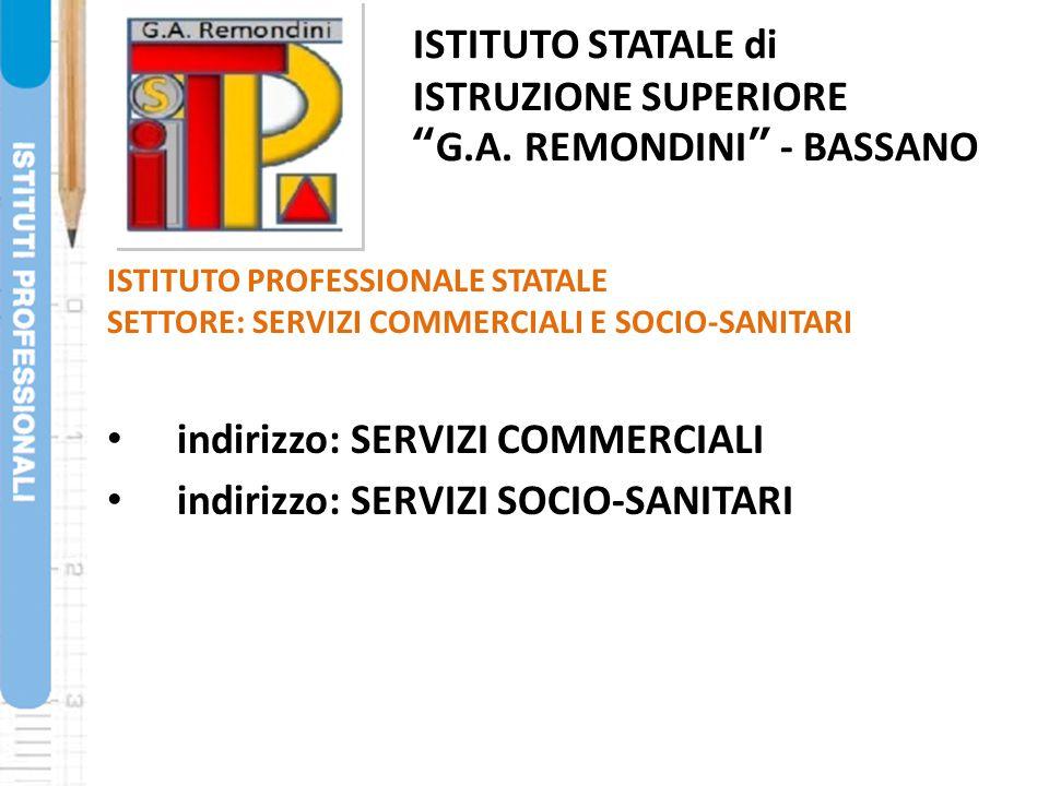 ISTITUTO STATALE di ISTRUZIONE SUPERIORE G.A. REMONDINI - BASSANO