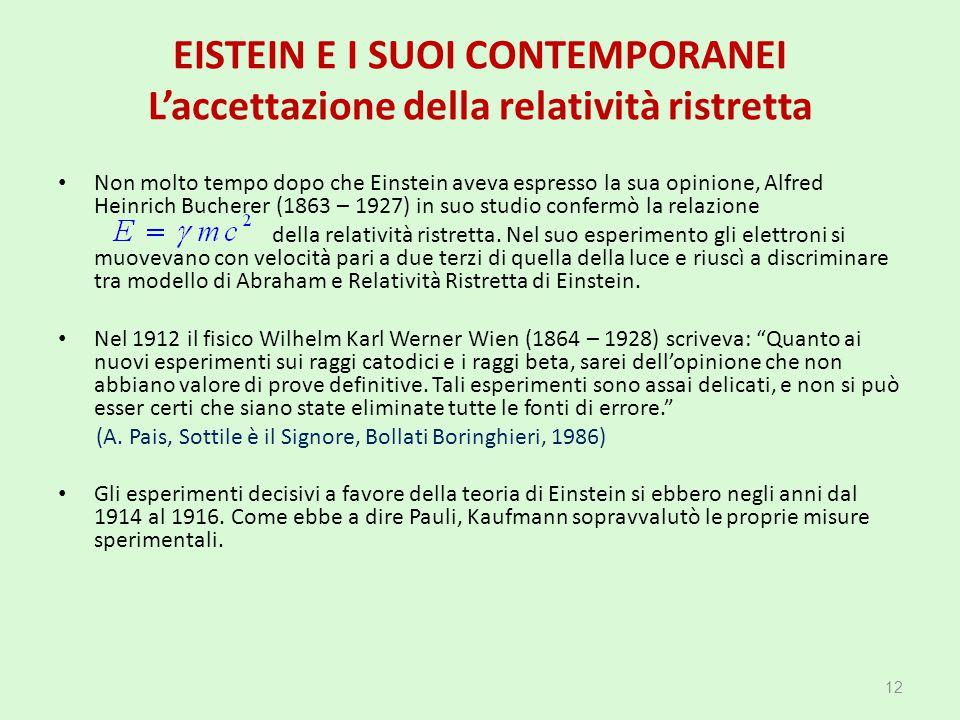 (A. Pais, Sottile è il Signore, Bollati Boringhieri, 1986)