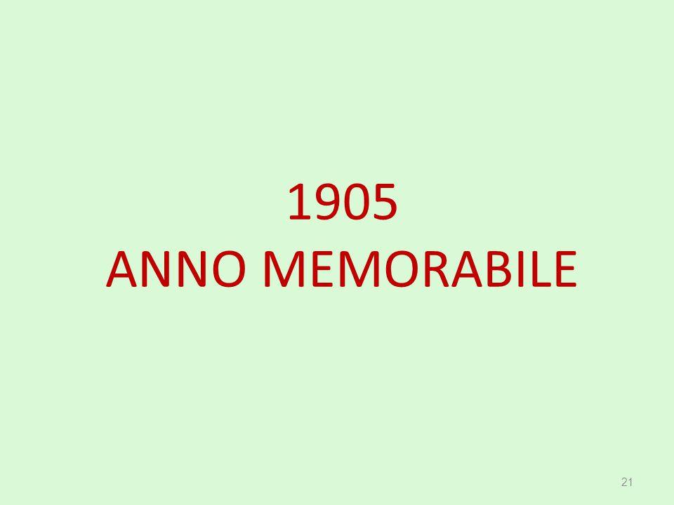 1905 ANNO MEMORABILE