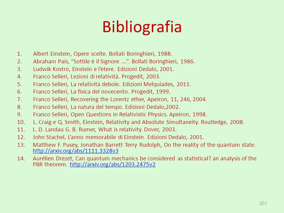 Bibliografia Albert Einstein, Opere scelte. Bollati Boringhieri, 1988.