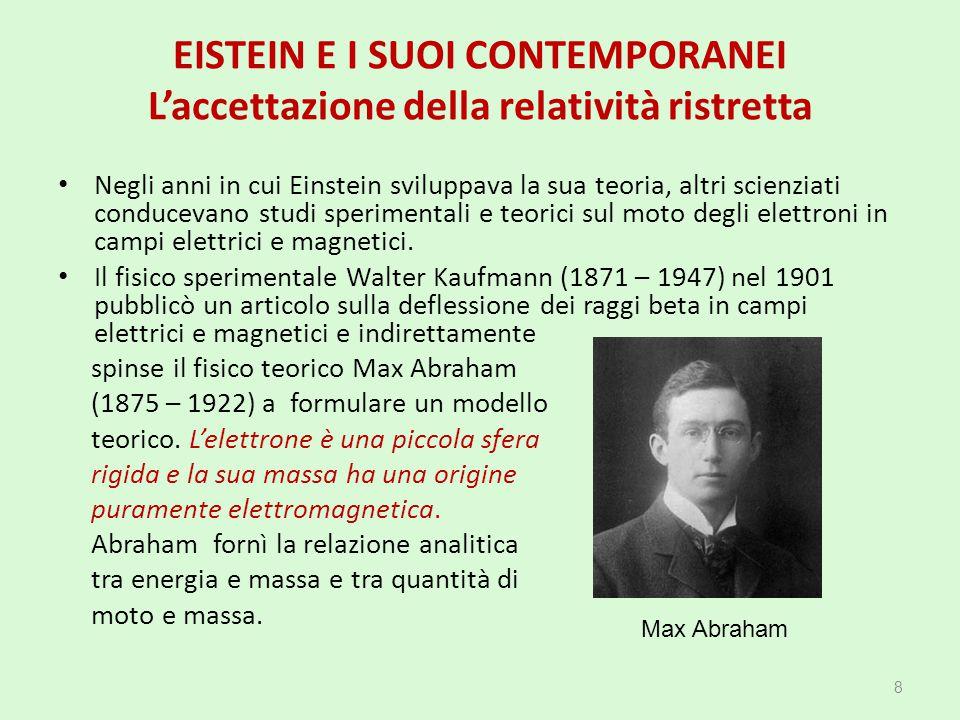 spinse il fisico teorico Max Abraham