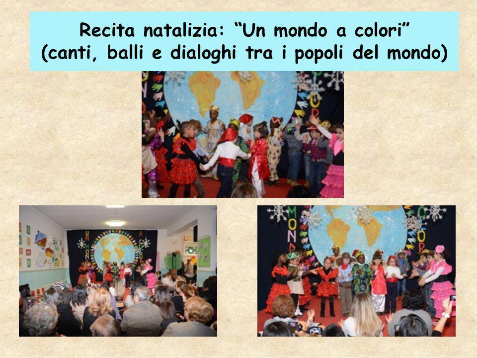 Recita natalizia: Un mondo a colori (canti, balli e dialoghi tra i popoli del mondo)