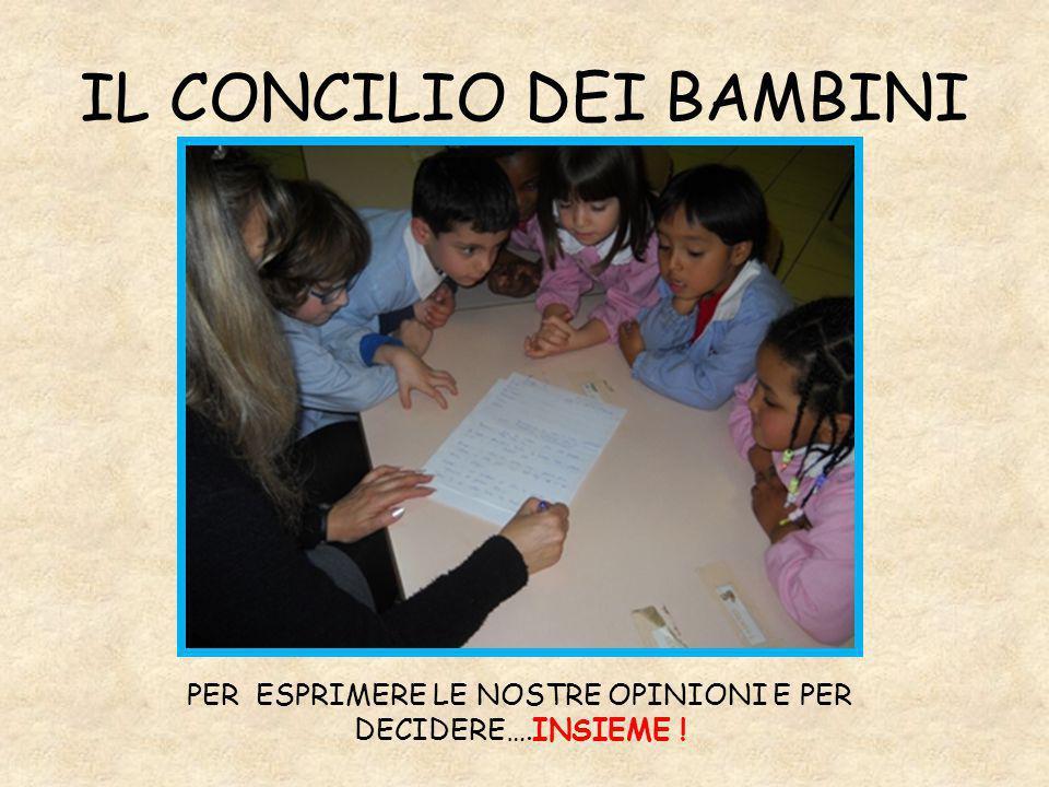 IL CONCILIO DEI BAMBINI