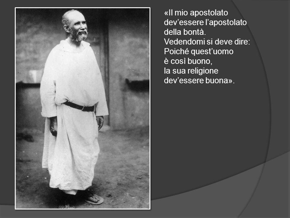 «Il mio apostolato dev'essere l'apostolato