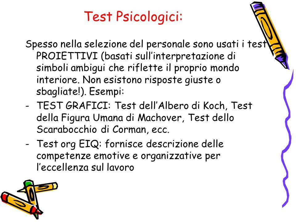 Test Psicologici: