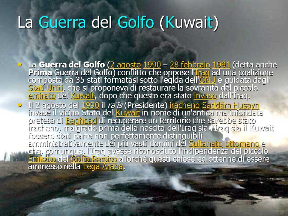 La Guerra del Golfo (Kuwait)