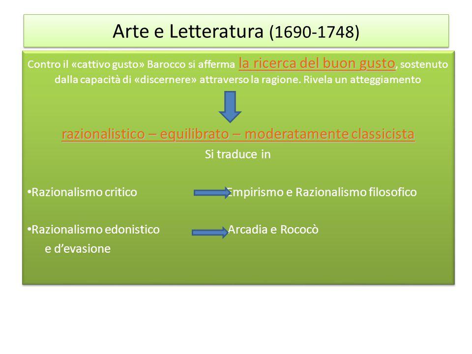 razionalistico – equilibrato – moderatamente classicista