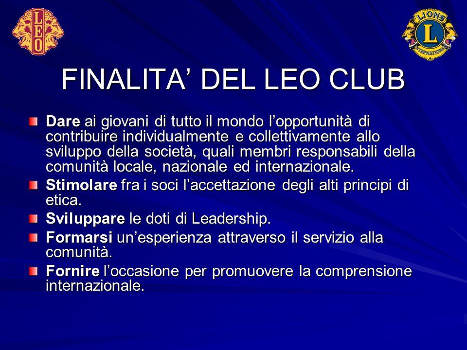 FINALITA' DEL LEO CLUB