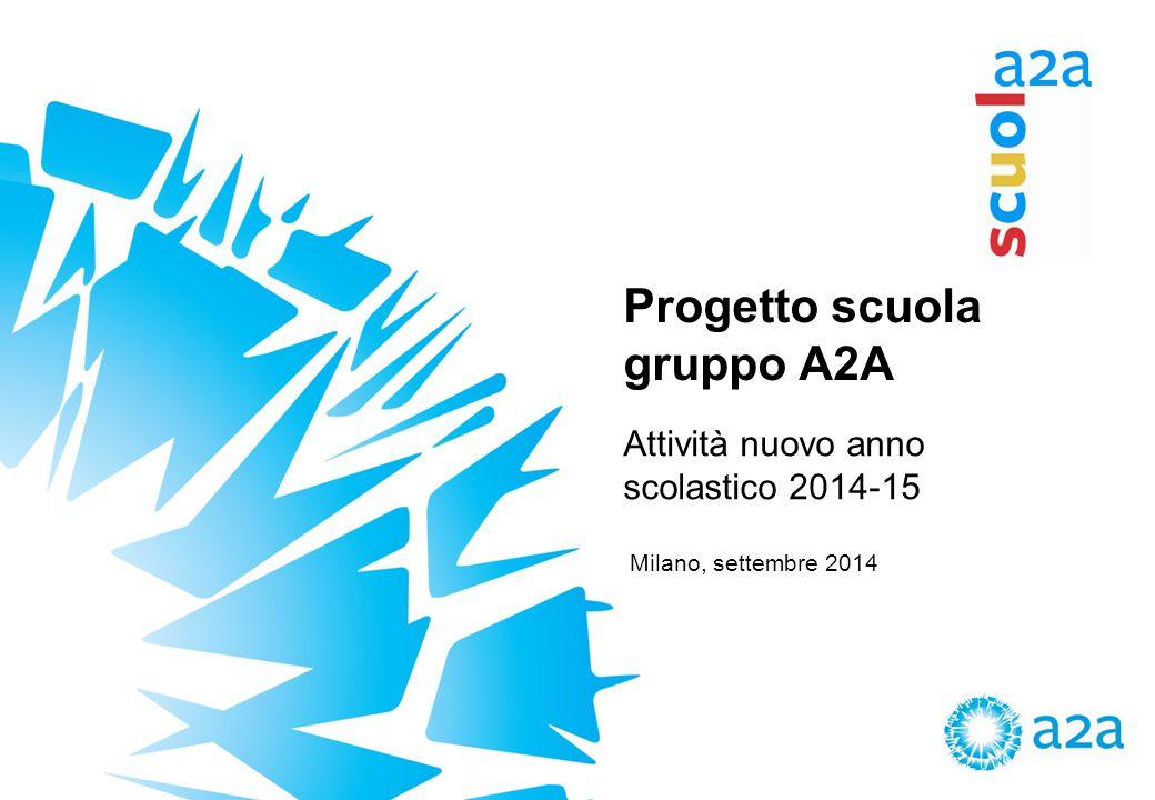 Progetto scuola gruppo A2A