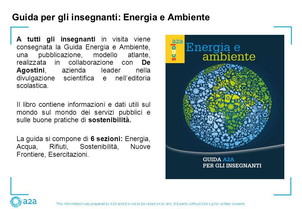 Guida per gli insegnanti: Energia e Ambiente