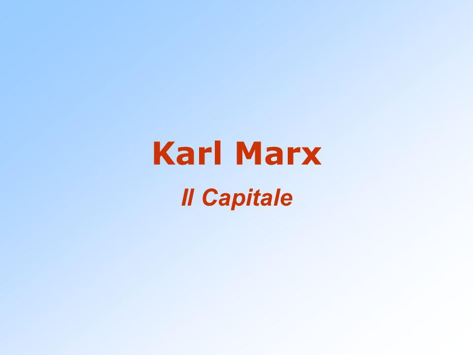 Karl Marx Il Capitale