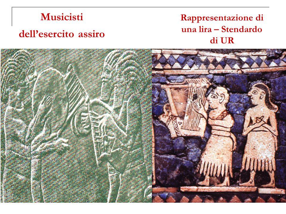 Musicisti dell'esercito assiro